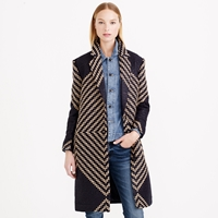 J.Crew Collection French Tweed Coat