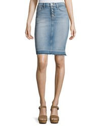 Hudson Remi High Rise Denim Pencil Skirt Indigo