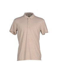 Selected Homme Topwear Polo Shirts Men Grey