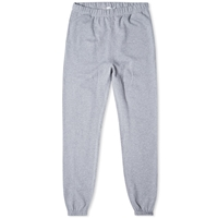 Sunspel Loopback Sweat Pant Dark Grey Melange