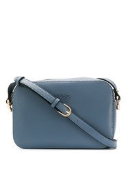 Liu Jo Printing Lining Cross Body Bag Blue