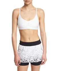 Koral Activewear Element Sports Bra With Removable Cups White Women's