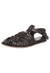 Zign Sandals Dark Brown