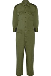 Nlst Officer Cotton Twill Jumpsuit