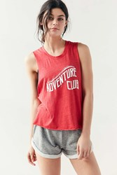 Without Walls Adventure Club Tank Top Red
