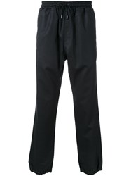 Kent And Curwen Ankle Length Track Pants Black