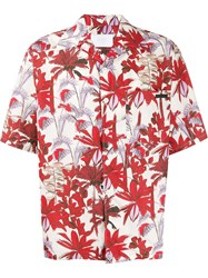 Prada Palm Print Shirt 60