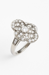 Kwiat 'Vintage Celeste' Diamond Ring White Gold