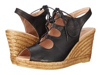 Eric Michael Gossip Black Women's Wedge Shoes