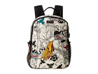 Sakroots Artist Circle Sporty Backpack Natural Peace Backpack Bags Multi