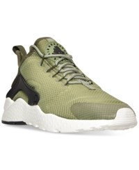 Nike Women's Air Huarache Run Ultra Running Sneakers From Finish Line Palm Green Legion Green B