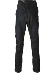 Vivienne Westwood Anglomania Asymmetric Fastening Jeans Blue