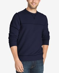 G.H. Bass And Co. Men's Fleece Pullover Night Sky Heather