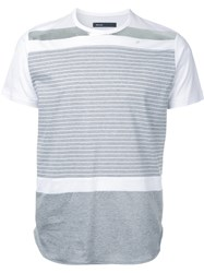 08Sircus Striped T Shirt Grey