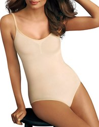 Maidenform Everyday Control Bodysuit Latte