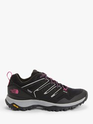 The North Face Hedgehog Fastpack Ii 'S Waterproof Hiking Shoes Tnf Black Mr. Pink