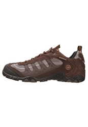 Hi Tec Hitec Penrith Wp Trainers Chocolate Orange Brown