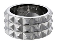 Stephen Webster Alchemy In The Uk Collection Stud Ring Black Rhodium Ring Silver