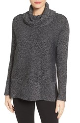 Chaus Women's Ribbed Cowl Neck Sweater