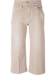 Isabel Marant A Toile 'Orsen' Jeans Pink And Purple