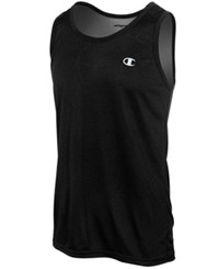 Champion Men's Vapor Heathered Tank Top Black Heather