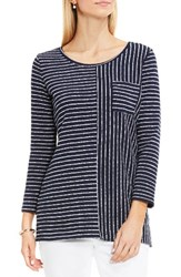 Vince Camuto Women's Two By Nautical Stripe Knit Top