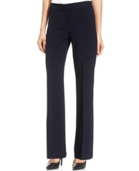 Nine West Straight Leg Dress Pants Navy
