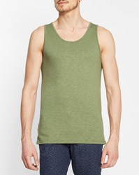 Minimum Khaki Temple Tank Top