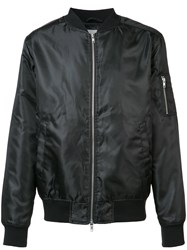 Wesc Shine Bomber Jacket Men Polyester S Black