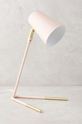 Anthropologie Gold Dipped Task Lamp Neutral