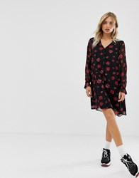 Minimum Moves By Floral Swing Dress Multi