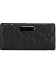 Marc By Marc Jacobs 'Sophisticato Crosby Quilt Tomoko' Wallet Black