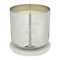 Tom Dixon Eclectic Collection Scented Candle Royalty Silver
