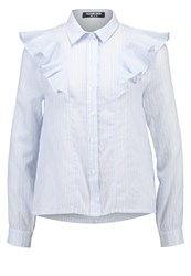 Fashion Union Mavis Shirt Blue