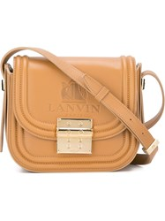 Lanvin 'Nomad' Crossbody Bag Nude And Neutrals