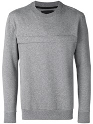 Blood Brother Luck Sweatshirt Grey