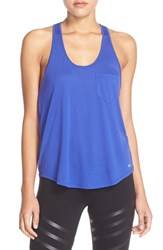 Alo Yoga Women's Alo 'Extreme' Racerback Tank Deep Electric Blue
