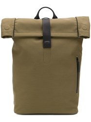Troubadour Top Handle Backpack Green