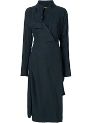 Vivienne Westwood Gold Label 'Mirror' Dress Blue