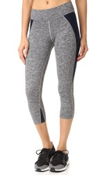 Live The Process Contour Cropped Leggings Winter Black White Dusk