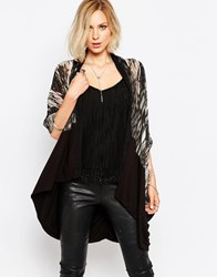 Religion Leader Cardigan Black