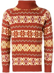 The Gigi Jerej Jumper Brown
