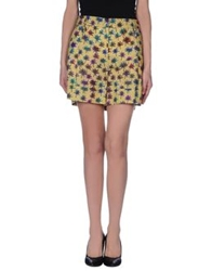 Schumacher Mini Skirts Yellow