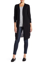 Joseph A Long Pocket Duster Cardigan Black