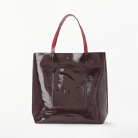 John Lewis Kin By Renja Tote Bag Burgundy