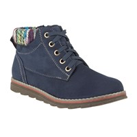 Lotus Sequoia Lace Up Ankle Boots Navy
