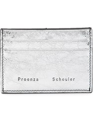 Proenza Schouler Origami Card Holder Grey