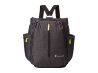 Sherpani Quest Convertible Backpack Heathered Black 1 Backpack Bags