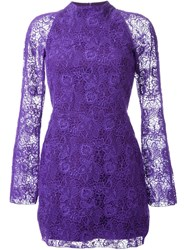 Manning Cartell 'Tea Party' Mini Dress Pink And Purple