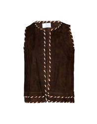 George J. Love Topwear Tops Dark Brown